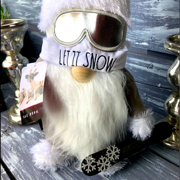 NWT Rae Dunn Holiday Gnome